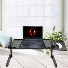 48cm*26cm Foldable Adjustable Laptop Dormitory Bed Table Stand Lap Sofa Bed Tray Computer Notebook Desk Laptop Table Desk