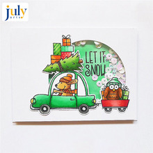 Julyarts Clear Stamps with Dies Scrapbooking Nouveau Arrivage Metal Cutting 2019 for Paper Cutter Kits