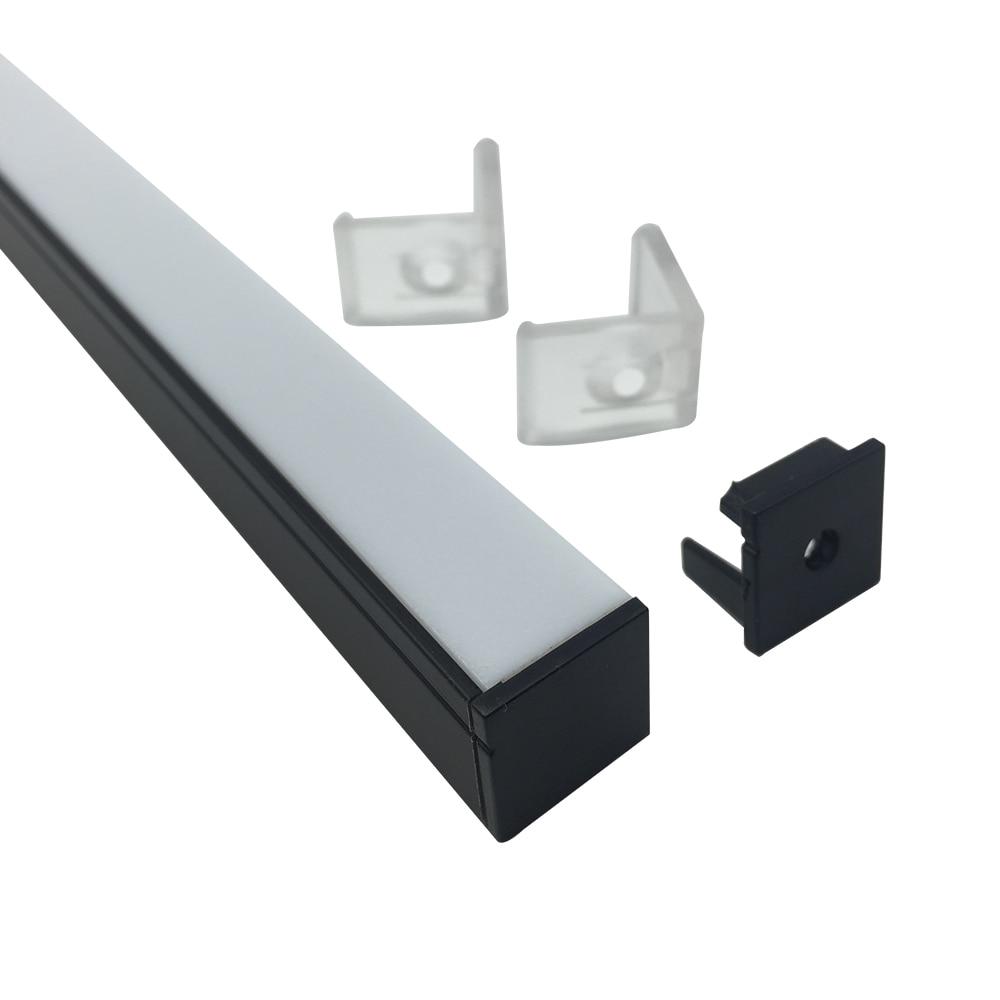 20Pack 6.6ft / 2m LED ալյումինե - LED լուսավորություն - Լուսանկար 2
