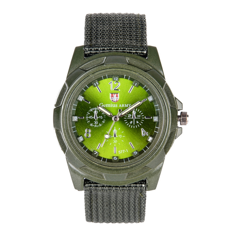 2019 drop shipping Men Nylon band Military watch Gemius Army watch High Quality Quartz Movement Men sports watch Casual wristwatches (9)