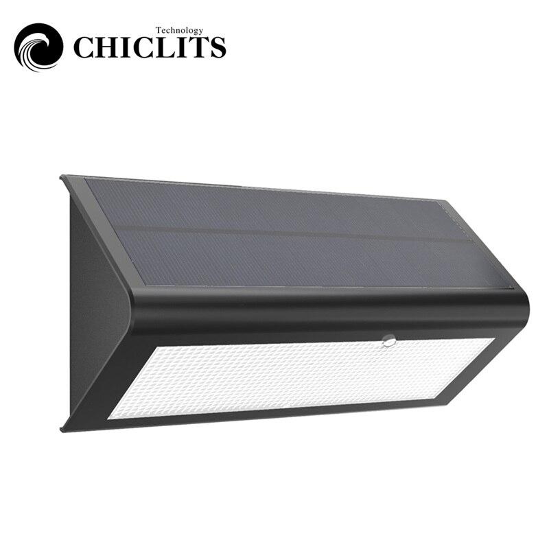 chiclits diodo emissor de luz solar novo 2835 smd branco warm white luz pir sensor de