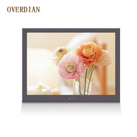 7 7inch Resistive Single Touch Industrial Control Lcd Monitor Display VGA USB AV Interface Metal Shell