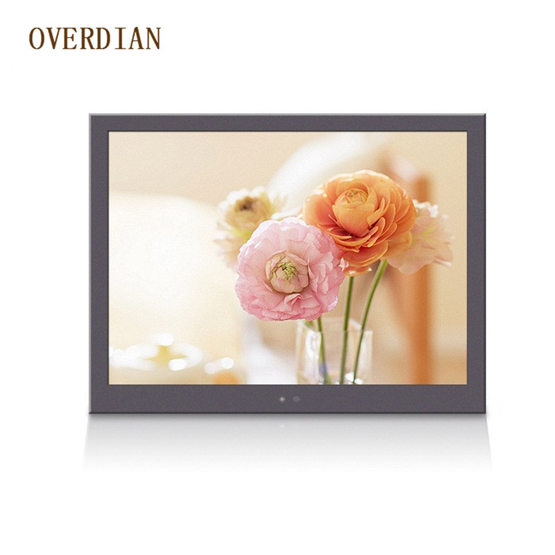 7/7inch Resistive/Single Touch Industrial Control Lcd Monitor/Display VGA/USB/AV Interface Metal Shell Fixed Ear Installation 10 4 10 vga dvi interface non touch industrial control lcd monitor display 1024 768 metal shell hanger card installation 4 3