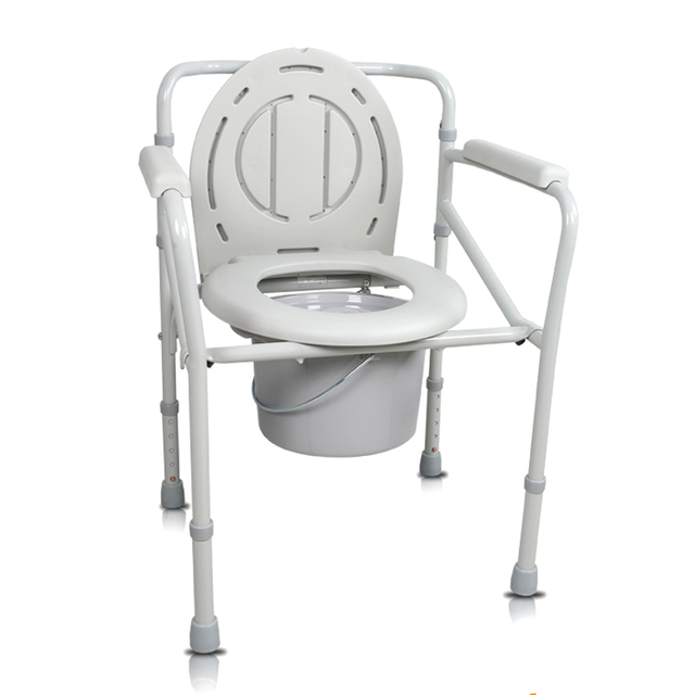 New Design High Quality Steel Adjustable Commode Chair High ...
