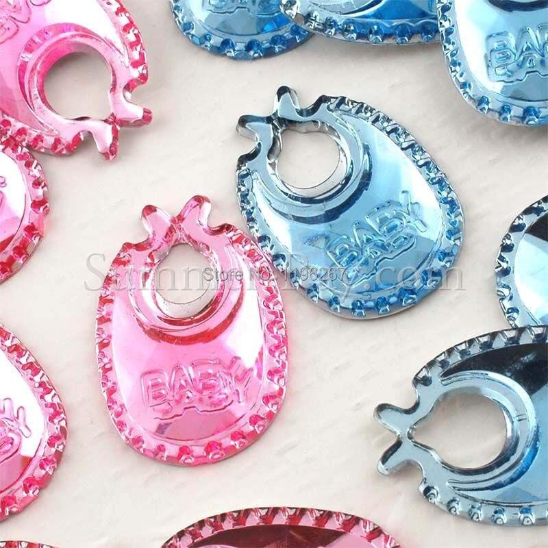 Buy 1000pcs bib style acrylic rhinestone for Applique decoration