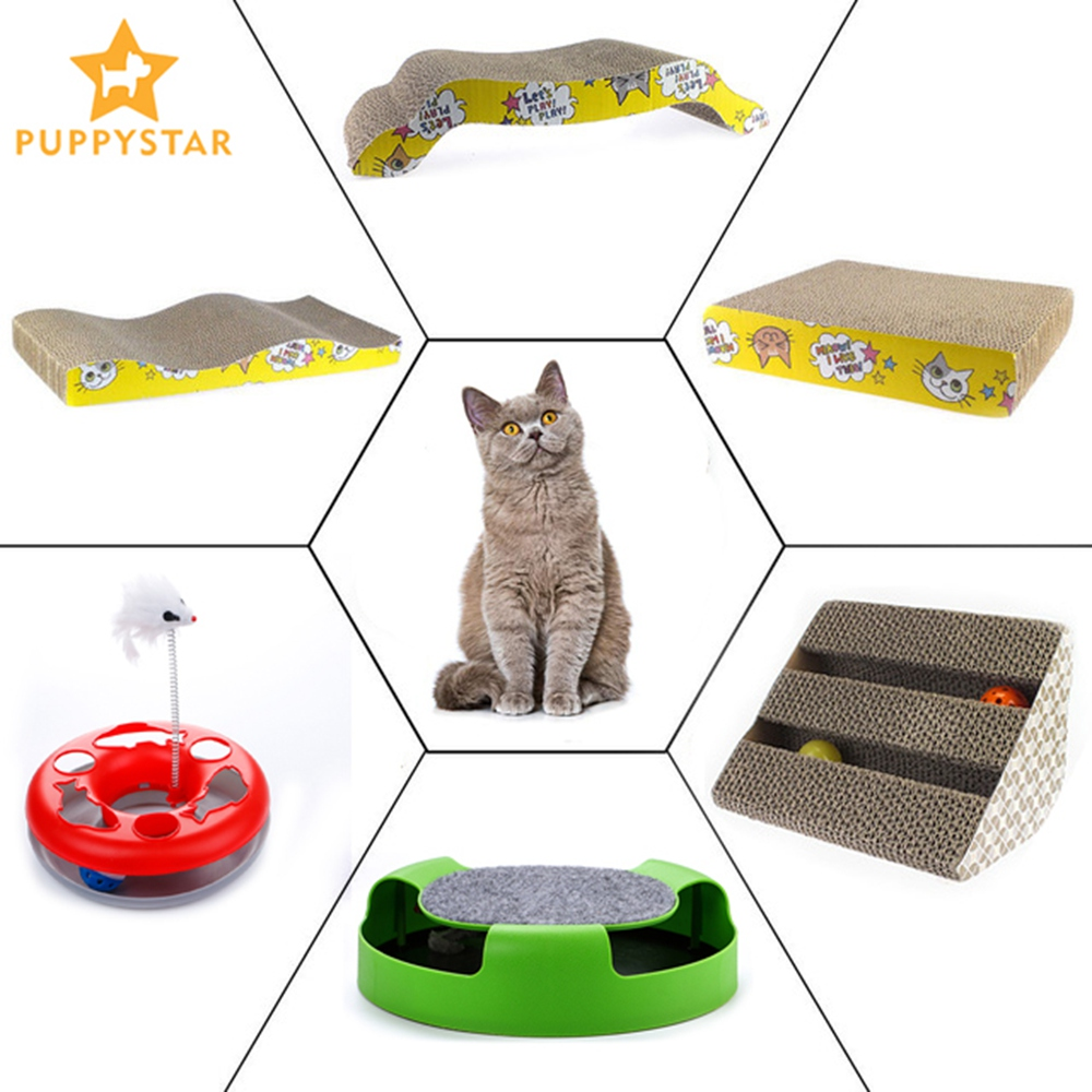 Cat Mint Toy Cats Scraper Scratches Toys Board Supplies Cat Scratcher Catnip Furniture Kitten Claws Scratch Scratching Ly0017