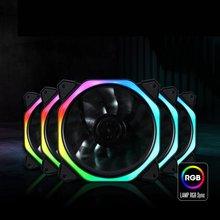 цена на RGB Light CPU Cooler Cooling Fan Ultra Quiet Durable Aluminum PC Silent Cooling Fan CPU Cooler Heat Sink For Computer