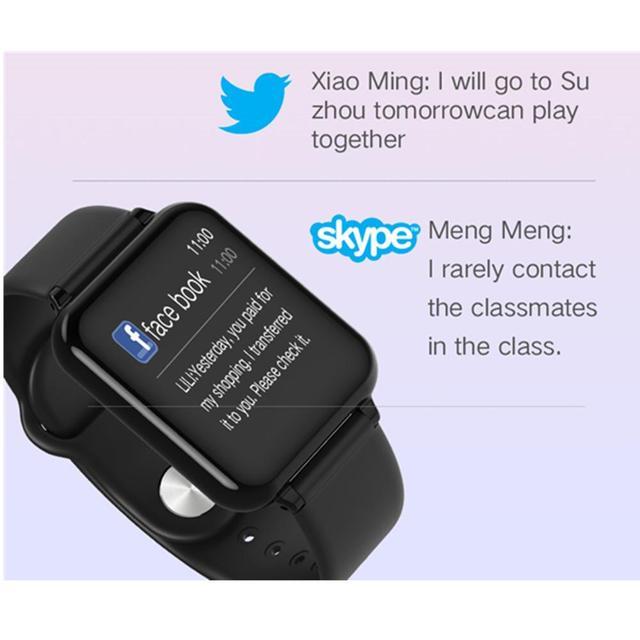 B57 smart watch fitness Bracelet heart rate monitor blood pressure multiple sport mode B57 men women smart watch wearable Watch