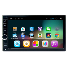 7 Inch Android 6.0 Double Din Car DVD Player universal 2 din car cassette player gps navigaton system with usb/map/bluetooth