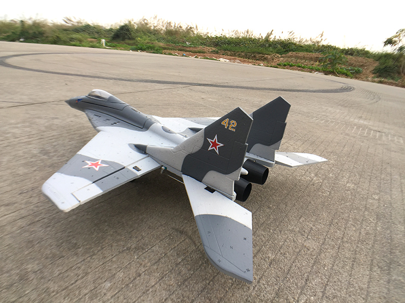Skyflight LX EPP Twin 30MM EDF Mini MIG29 KIT RC Plane Model W/O Motor Servos ESC Battery mini dvi male to vga female adapter