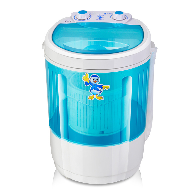 Freeshipping 260w power Mini washing machi can wash and dry 1.8kg clothes single tub top loading dryer Semi automatic