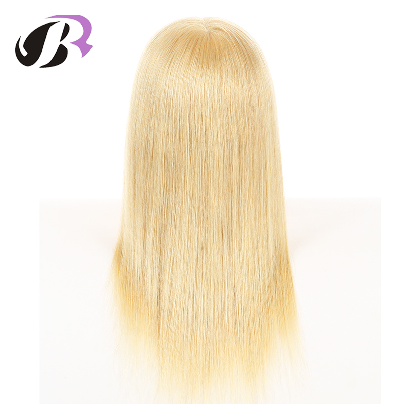 New Arrival Mannequin Hairdressing Training Head 100% Human Hair Blonde Hair Mannequin Head Free Clamp