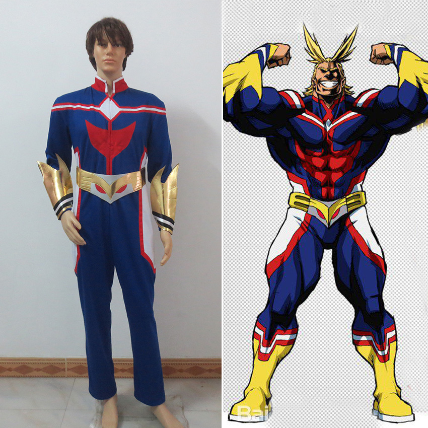 My Hero Academia All Might Cosplay Costume AllMight ...