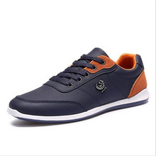 2017 New Breathable Men Shoes Lace Up Designer Spring Autumn Fashion Casual Shoes Outdoor Male walking shoes For Black Blue