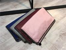 2016 sale Shaggy Deer PVC envelope daily chain clutches women fashion handbag