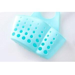 Image 5 - Portable cuisine évier plat savon organisateur suspendus Drain salle de bains éponge organisateur mur étagère savon crochets ventouse éponge supports