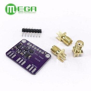 CJMCU 5351 Si5351A Si5351 reloj generador de señal Placa de adaptación para Arduino IDE I2C controlador SMA conector 3,3 V LDO regulador