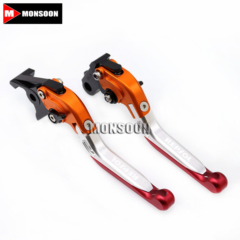 For HONDA CB599/CB600 HORNET CBR 600 F2,F3,F4,F4i CBR900RR Motorcycle Folding Extendable Brake Clutch Levers 2 Colors mf2300 f2