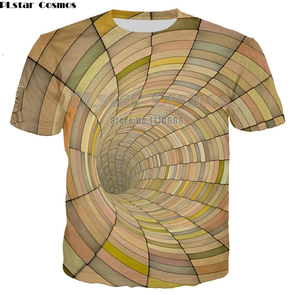 Vertigo Hypnotic T Shirt Men Women 3d Funny Print O Neck Summer Tshirts Unisxe Hip Hop Tees Tops Camisa Masculina