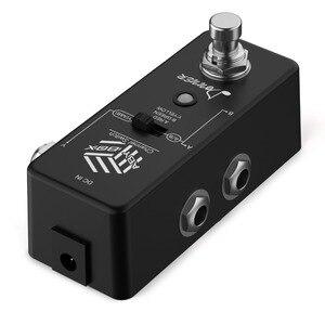 Image 5 - Donner aby switcher caixa pedal de guitarra aby linha seletor canal áudio swith combinar efeito pedal true bypass guitarra acessórios