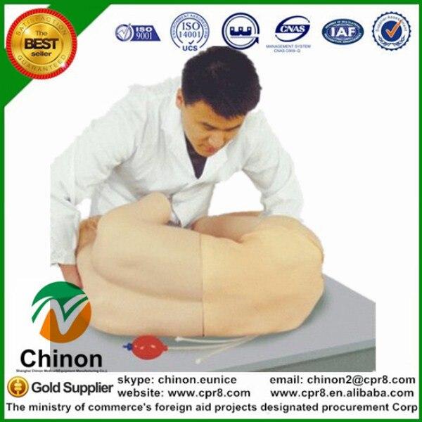 BIX-CK811 Lumbar Vertebra Puncture Training Manikin MQ162 bix h2400 advanced full function nursing training manikin with blood pressure measure w194