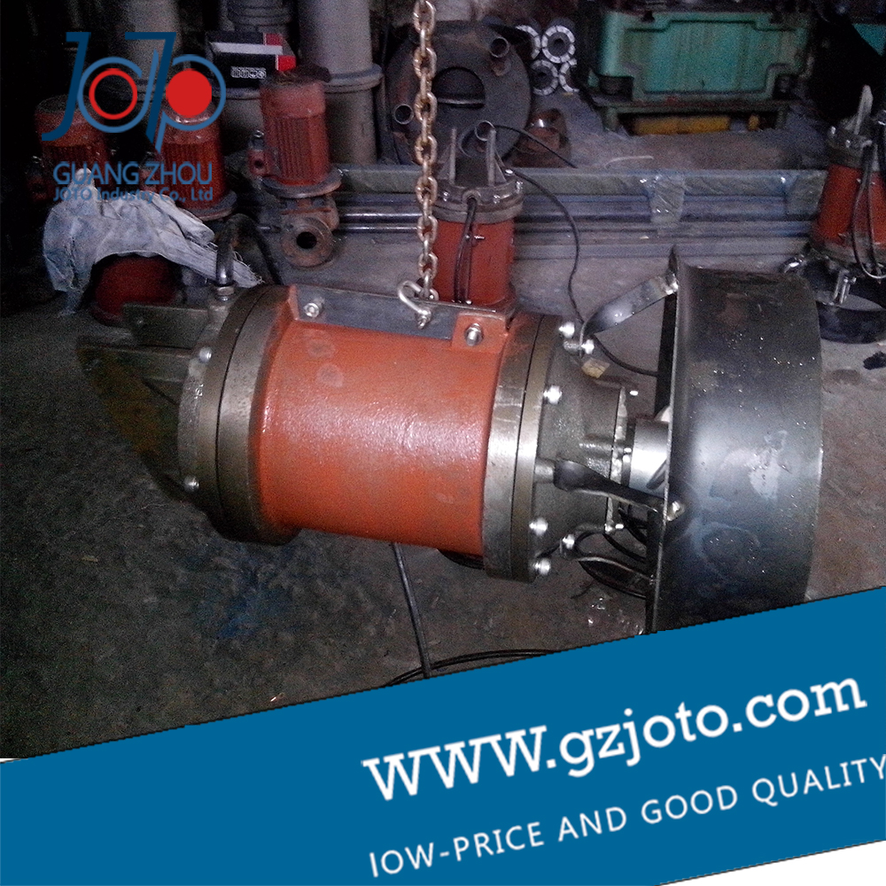 Submersible mixer QJB0.85/8-260/3-740/C/S cast iron host, sump submersible pump impeller