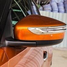 Accessori Per auto Per Nissan Kicks 2016 2017 2018 Esterno ABS Chrome Vista Posteriore Della Copertura Dello Specchio Striscia Specchi Cornice Cornice