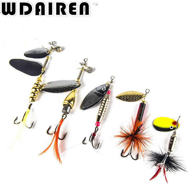 1Pcs carp fishing lure spoon bait Sequin Bass isca Artificial spinner bait fishing kit Metal Pike feather fishing hooks FA-223 10pcs box metal spoon fishing lure hooks spinner baits sequins hard artificial jigging lure kits isca fishing tackle accessories