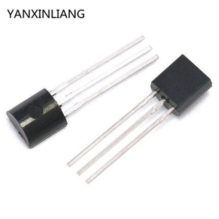 10PCS LP2950-3.3 IC REG LDO 3.3V 0.1A TO92