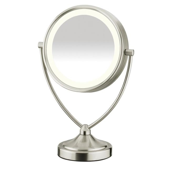 Conair BE122 Round Shaped Natural Daylight Double-Sided Lighted Makeup Mirror