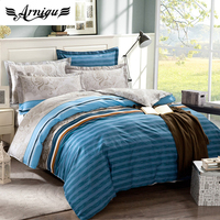 Stripe Duvet Cover Set 3pc 4pc 5pc 100 Cotton Bedding Set Bed Sheet Mattress Cover Quilt