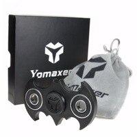Yomaxer Batman Fidget Spinner EDC Toy Bat Shape Ceramic Bearing For Austism ADHD ADD