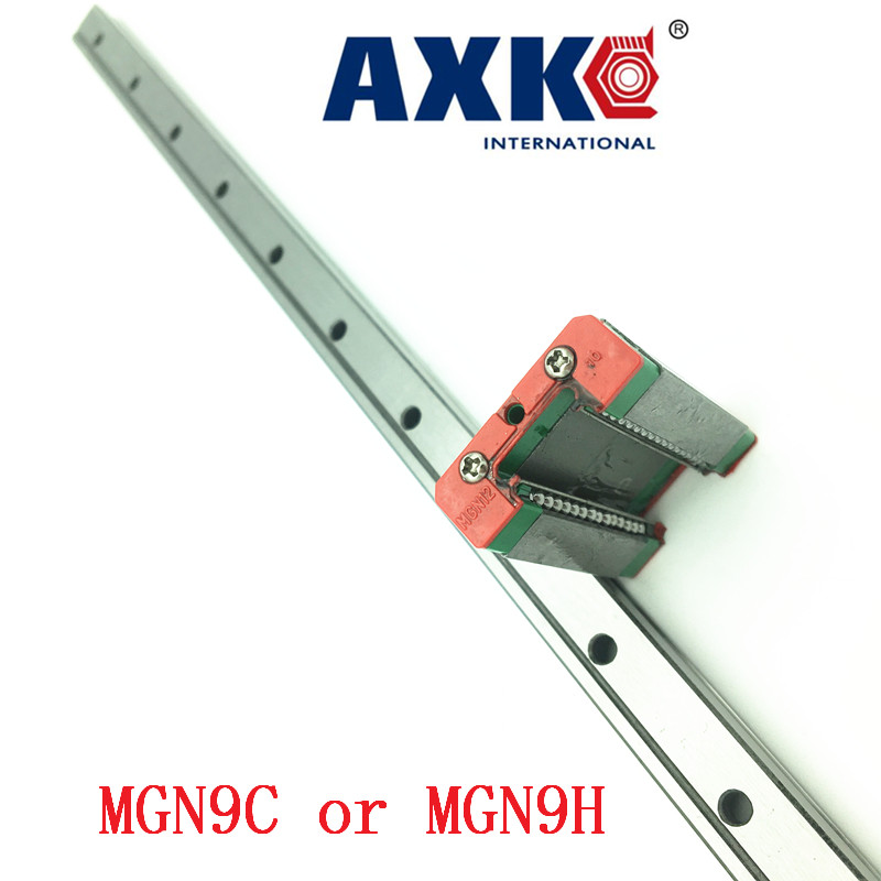 9mm Linear Guide Mgn9 L= 550mm Linear Rail Way + Mgn9c Or Mgn9h Long Linear Carriage For Cnc X Y Z Axis9mm Linear Guide Mgn9 L= 550mm Linear Rail Way + Mgn9c Or Mgn9h Long Linear Carriage For Cnc X Y Z Axis