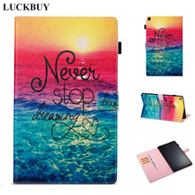 LUCKBUY Case for Amazon Fire HD10 2017 Flip Leather Cover For Amazon Kindle Fire HD10 HD 10 10.1 Tablet Case Protective shell case for amazon new kindle fire hd10 2017 slim smart stand cover with auto wake sleep for kindle fire hd10 2017 tablet funda