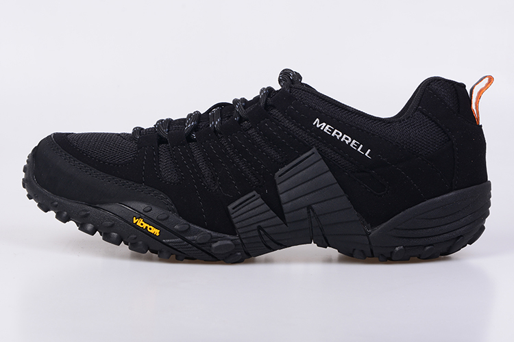 d028de2742 US $66.45 5% OFF|Merrell Men Black Mesh Breathable Outdoor Sport Hiking  Shoes For Male Wearable High Quality Durable Mountain Anti Slip Sneakers-in  ...