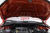 For 2018 skoda karoq refit front hood Engine gas spring surpport rod Strut spring shock Bar