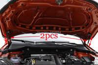 Para 2018 2019 skoda karoq reequipamento capa dianteira do motor mola a gás surpport haste strut mola barra de choque