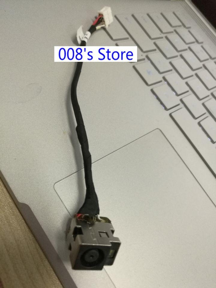 New DC Power Jack For HP Pavilion G6-1000 G6-1325SA 1240SA 1223SA 6017B0295401 Notebook Charging Socket Connector Harness Cable