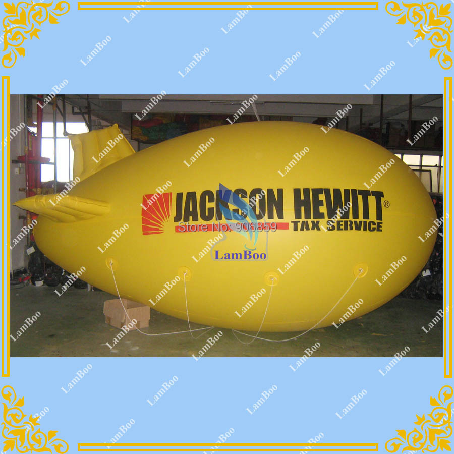 HOT Sell 4M/13ft Long Inflatable Zeppelin/Inflatable Airship/Inflatable Advertising Blimp for Events/Fast DHL FREE SHIPPINGHOT Sell 4M/13ft Long Inflatable Zeppelin/Inflatable Airship/Inflatable Advertising Blimp for Events/Fast DHL FREE SHIPPING