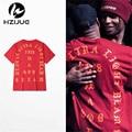 Me Siento Como Pablo Kanye Camiseta Hombre Camisetas de Manga Corta 2016 summer high street hip hop Streetwear Rojo azul negro blanco S-XXXL