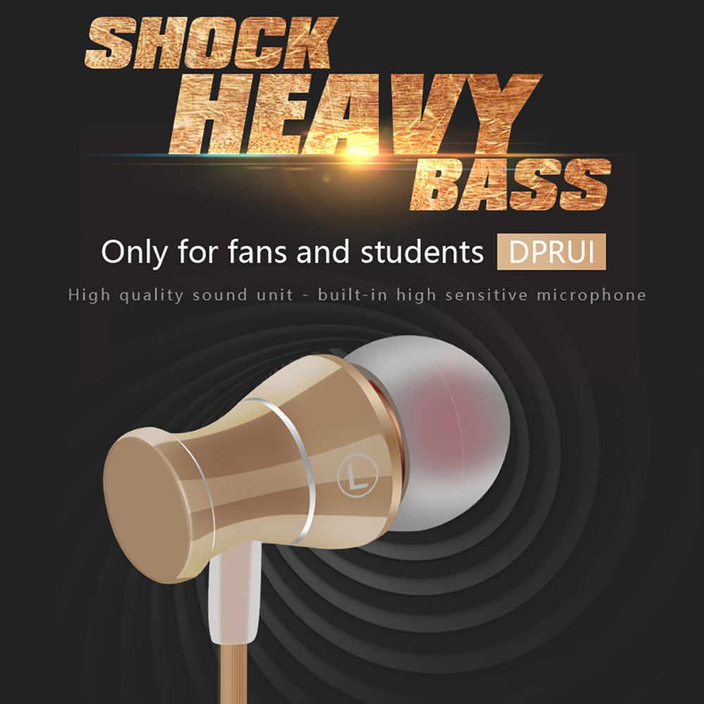 Проводные наушники-вкладыши, микрофон, гарнитура с микрофоном, 3,5 мм, стандартные стерео наушники, проводная гарнитура для Xiomi Huowei