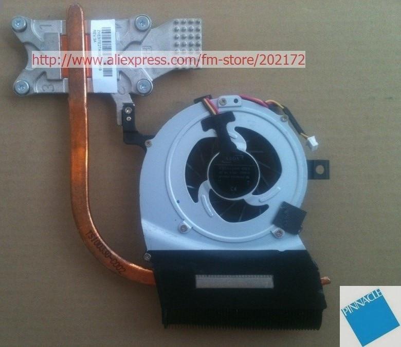 laptop motherboard heatsink for TOSHIBA satellite L600 L645 L640 L600D CPU cooling fan