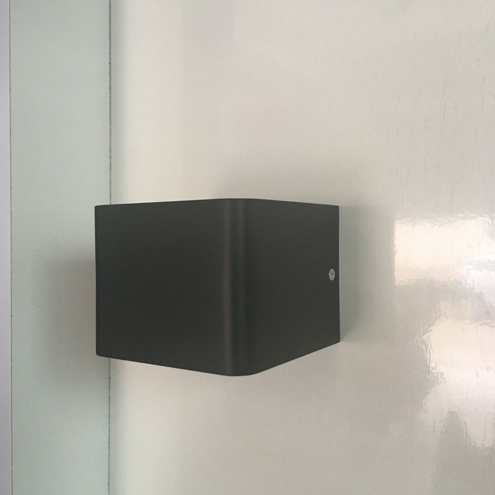 5w Square Aluminum Simple Wall Lamp Background Wall Decorative Lamp5w Square Aluminum Simple Wall Lamp Background Wall Decorative Lamp