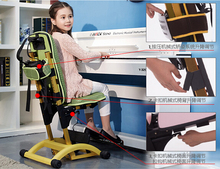 Can lift children learning chair. Student chair household. Adjustable chair.