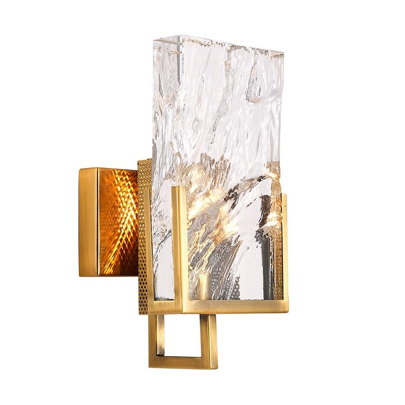 Mooielight Modern crystal wall sconces LED Wall Light For ... on Modern Wall Sconce Lights id=64559