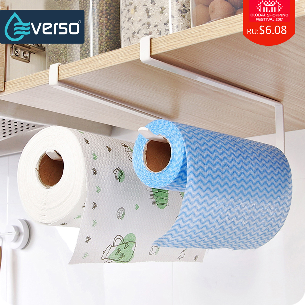 Kitchen Cabinet Hanging Shelf Toilet Roll Holder Paper Rack Toilet Paper Holder Tissue Holder Towel Rack Bathroom Accessories toilet paper towel holder bathroom accessories paper holder wall paper rack space aluminium mounting seat toilet roll tissue