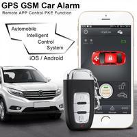 ПКЕ смартфон начать автомобиль Smart Alarm удаленного инициирование Системы Start Stop Engine Системы с центральным замком и вибрации сигнализации