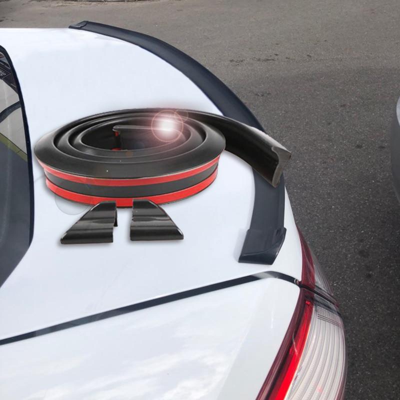 A6 Rear Bumper Spoiler Boot Wing Lip for Audi A6 Base Sedan 05-11 Unpainted