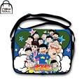 [NEWTALL] Matsuno Osomatsu Ichimatsu Jyushimatsu Todomatsu Karamatsu  Canvas Shoulder Cross Body Satchel Bag Messenger Bag A1073