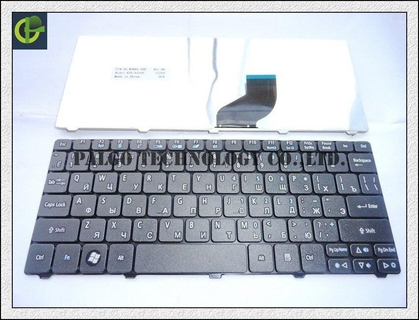 Russian Keyboard for Acer Aspire One D255 D255E D257 AOD257 D260 D270 AOD260 AO521 AO532 AO533 532 532H 521 533 RU Black